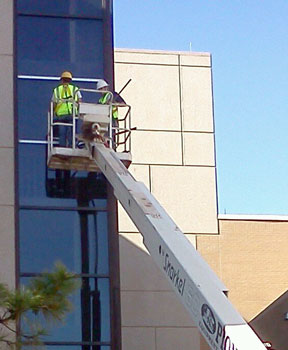 Replacing Windows on the Reynolds Army Hospital